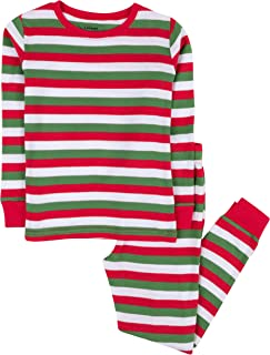 red white and green striped pajamas