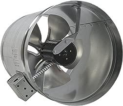 Tjernlund EF-12 Duct Booster Fan, 800 CFM, 12