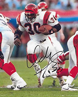 Ickey Woods, Cincinnati Bengals, signed, autographed, 8x10 photo, COA with proof photo