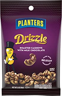 Planters Milk Chocolate Drizzle Snack Nuts, 2oz (Pack of 18)