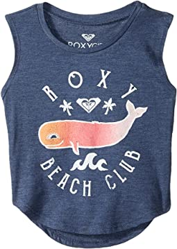 Roxy Kids Roxy Beach Club Muscle Tank Top (Toddler/Little Kids/Big Kids)