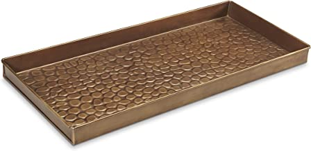 Good Directions 208BR Pebbles Boot Tray, Brass