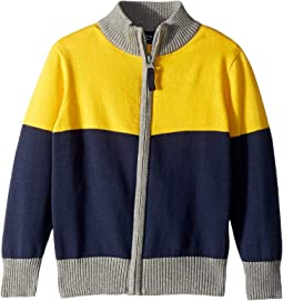 Knit Zip-Up Sweater (Toddler/Little Kids/Big Kids)