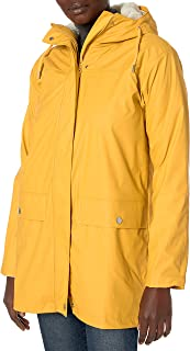 Helly Hansen Moss Hooded Insulated Fully Waterproof Windproof Raincoat Jacket with Removable Warm Pile Liner
