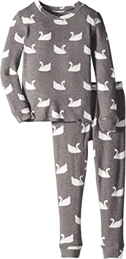 Swans Two-Piece Jammies Set (Toddler/Little Kids/Big Kids)