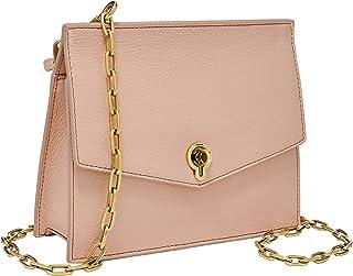 Fossil Stevie Leather 18.745 cms Pink Gym Shoulder Bag (ZB7882656)
