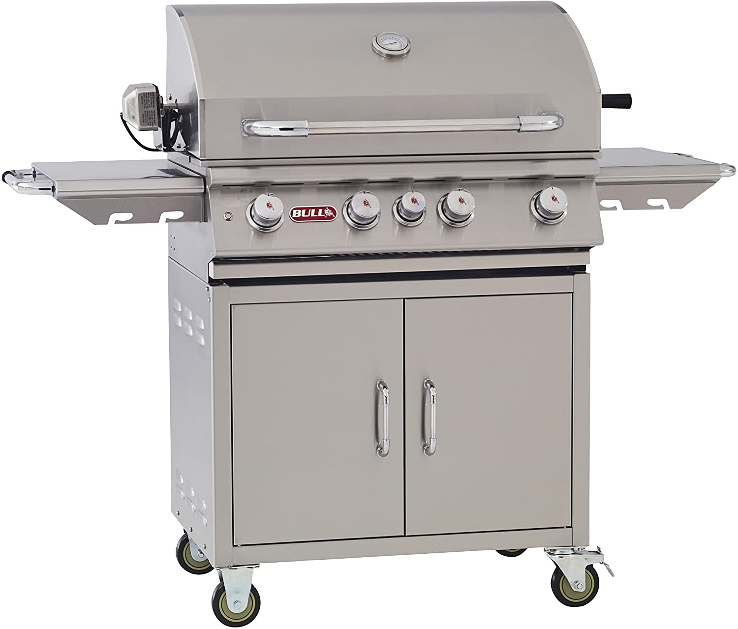 Amazon Com Bull Outdoor Products Bbq 44000 Angus 75 000 Btu Grill With Cart Liquid Propane Garden Outdoor