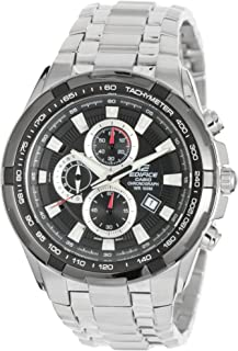 Casio Men's EF-539D-1A Edifice Stainless Steel Multi-Function Watch