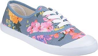 Divaz Womens/Ladies Ellie Floral Pattern Lace Up Shoes