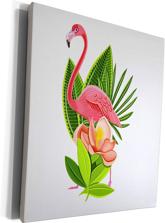 3dRose Ranking TOP17 Sven Herkenrath Bird - an New Free Shipping Lotus Flower Flamingo with
