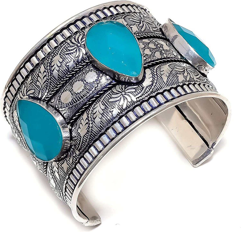 LARA GEMS STONES AND Finally resale start JEWELLERS Blue 9 Ethnic Style Onyx depot Gemstone