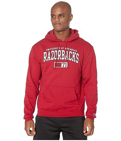 Champion College Arkansas Razorbacks Eco(r) Powerblend(r) Hoodie (Cardinal 2) Men