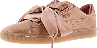PUMA Basket Heart Womens Sneakers Pink