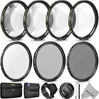 67MM Altura Photo Professional UV CPL ND4 Lens Filter and Vivitar Close-Up Macro Accessory Kit for Lenses with a 67MM Filter Size
