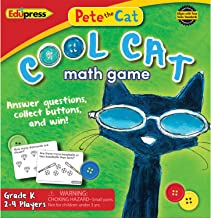 Pete The Cat Cool Cat Math Game Grade K
