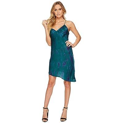 Volcom GMJ Slip Dress (Midnight Green) Women