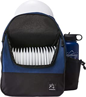 Prodigy Disc BP-4 Disc Golf Backpack Bag - Holds 16-18 Discs, Lightweight, Great for Beginners
