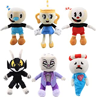 Chalice Plush Figure Toy Soft Stuffed Doll for Kids Gift 8 inch Cuphead Game Ms