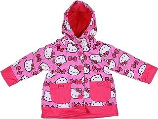 Western Chief Girls Hello Kitty Two-Pocket Pink Rain Jacket
