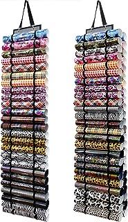 GABraden Support pour rouleau de vinyle avec 50 compartiments - Support mural / à suspendre sur une porte