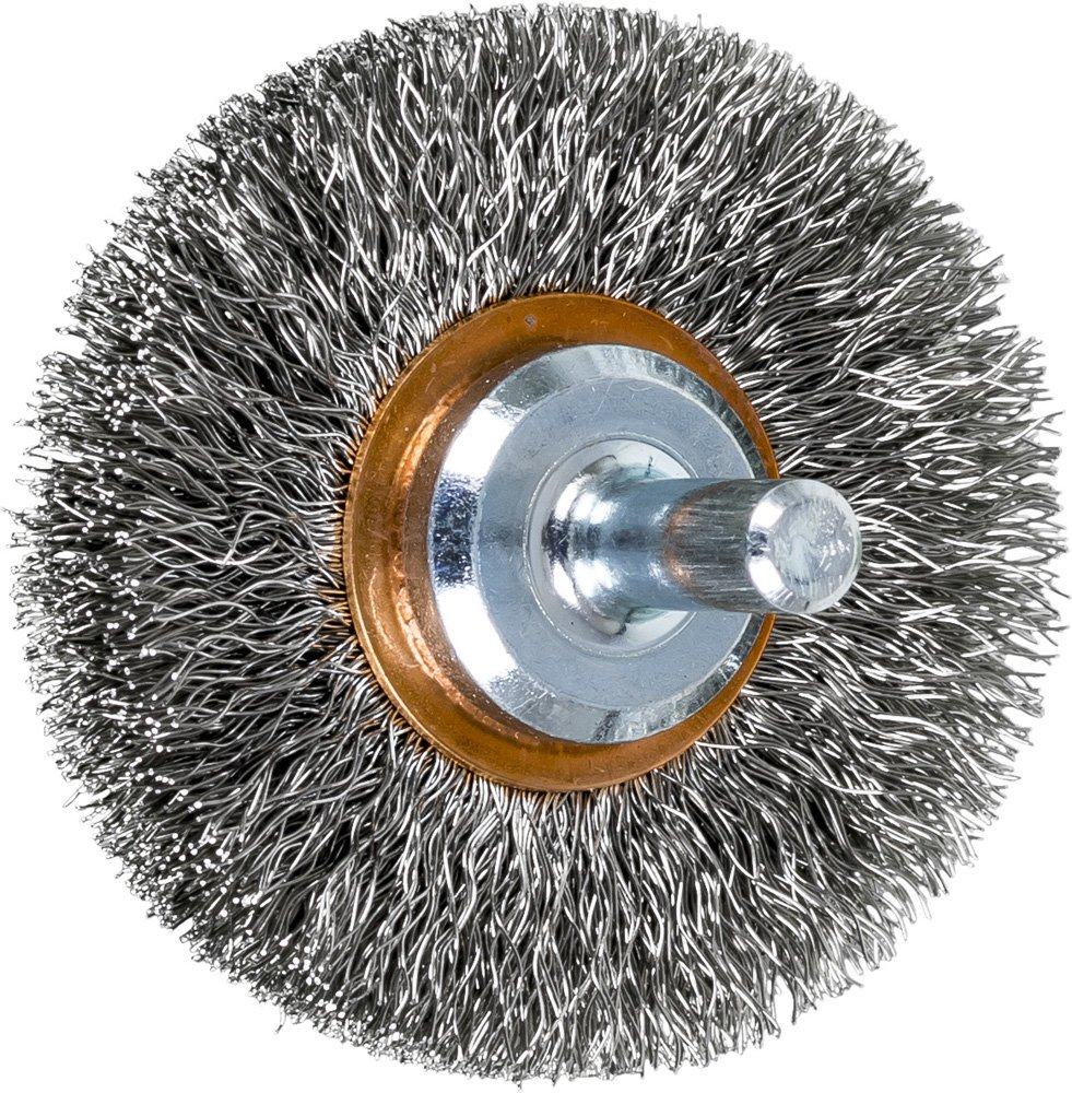 PFERD 82907 Stem Mounted End Stainless Sales of outlet SALE items from new works Wire Crimped Steel Brush