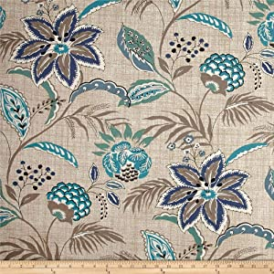 Magnolia Home Fashions Tradewinds Ocean Fabric by The Yard