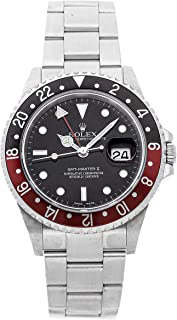 Rolex GMT Master II Mechanical (Automatic) Black Dial Mens Watch 16710 (Certified Pre-Owned)