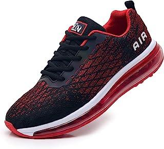 Azooken Scarpe Sportive Uomo Donna Scarpe da Corsa Cuscino Ad Aria Sneaker Tempo Libero Fitness Sneaker da Esterno Traspir...
