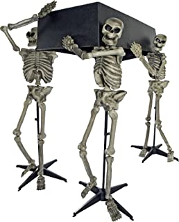 Forum Novelties Skeleton Pall Bearers with Coffin Decoration