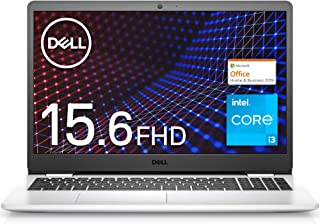 【MS Office Home&Business 2019搭載】Dell ノートパソコン Inspiron 15 3501 ホワイト Win10/15.6FHD/Core i3-1115G4/8GB/256GB/Webカメラ/無線LAN NI3...