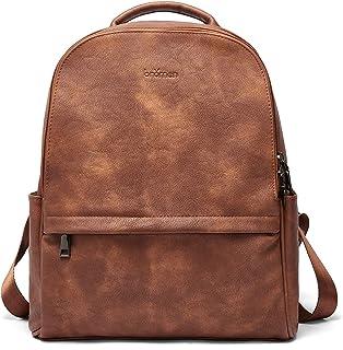 Sponsored Ad - BROMEN Backpack Purse for Women Leather Anti-theft Travel Backpack Fashion College Shoulder Handbag