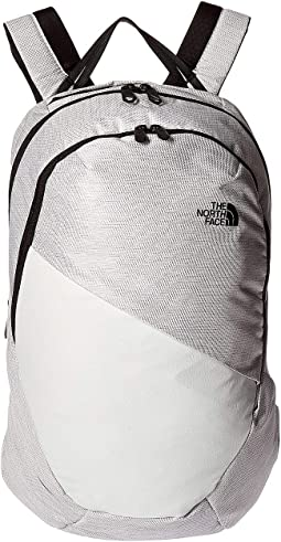 TNF White Metallic Melange/TNF Black