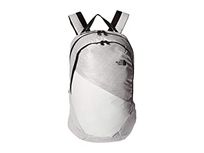 The North Face Isabella (TNF White Metallic Melange/TNF Black) Day Pack Bags