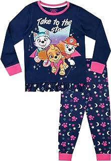 Paw Patrol Pijamas de Manga Larga para niñas La Patrulla Canina