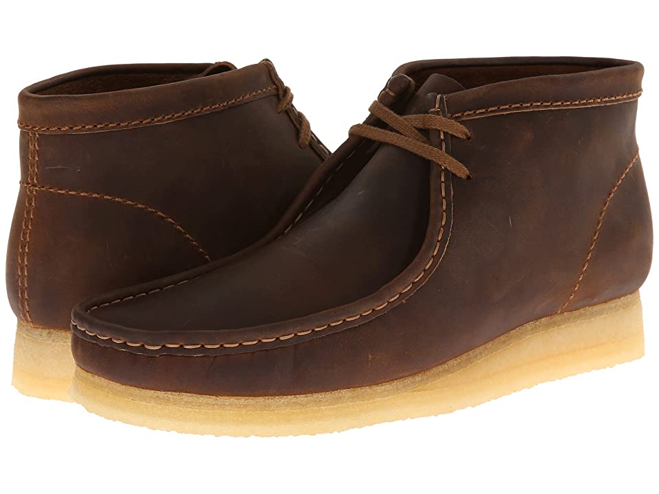 Clarks Wallabee Boot (Beeswax Leather) Men