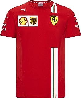 Ferrari Scuderia F1 Kids 2020 Team T-Shirt Red (15-16 Years)