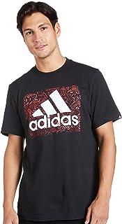 adidas mens MEN DOODLE LOGO GRAPHIC T-SHIRT T-Shirt