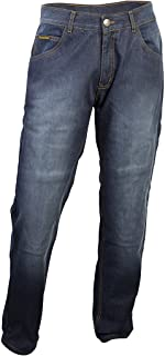 ScorpionExo Covert Pro Jeans Men`s Reinforced Motorcycle Pants (Wash, Size 36)