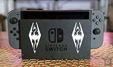 CT Switch Decals- Skyrim Logo 2in Set of Two(2x)