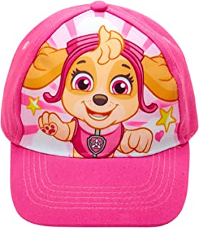 Nickelodeon Paw Patrol Girls Cotton Baseball Cap (Ages 2-7)