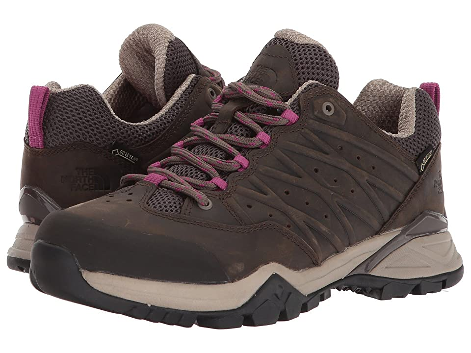 The North Face Hedgehog Hike II GTX(r) (Bone Brown/Wild Aster Purple) Women