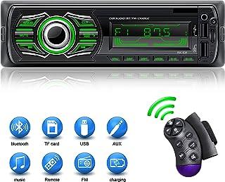 comprar comparacion X-REAKO Radio Coche Autoradio Bluetooth Apoyo de Reproductor MP3 Llamadas Manos Libres Radio FM Soporte Control Remoto del...