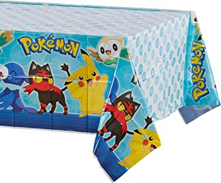 American Greetings Pokémon party supply, 1-Count, Tablecover - 5877208