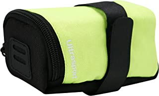 Ultrasport Ultra-83734974 XL Unisex Adult Bike Saddle Bag - Yellow, 14 x 7.5 x 7 cm