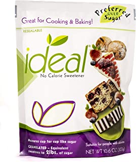 Ideal No Calorie Xylitol Sweetener: Natural, Non GMO, Keto Friendly, Bulk Granulated Sugar Substitute and Alternative, 10....