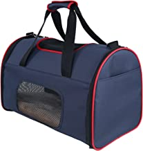 Petsfit Expandable Foldable Pet Carrier for Dog Cat, Soft-sided Carrier for Travel