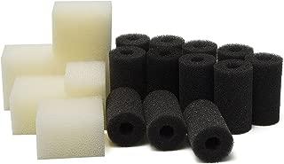 LTWHOME Pre-Filter Sponges and Compatible Foam Filter Pads Suitable for Fluval Edge Aquarium