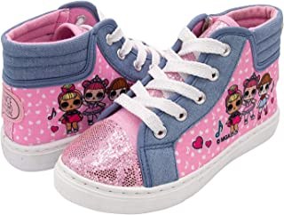 L.O.L. Surprise! Girls Hi-Top Canvas Sneaker