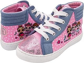 L.O.L. Surprise! Girls Hi-Top Canvas Sneaker