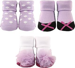 Luvable Friends 3-Pack Little Shoe Socks Gift Set